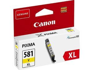 Μελάνι εκτυπωτή CANON CLI-581XL Yellow 8.3ml (2051C001)