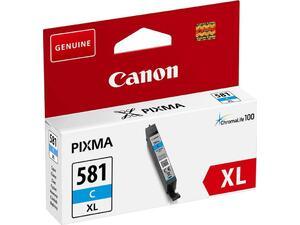 Μελάνι εκτυπωτή CANON CLI-581XL Cyan 8.3ml (2049C001)