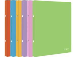 Ντοσιέ Metron Fun πλαστικό Α4 με 4 κρίκους σε διάφορα χρώματα