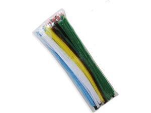Σύρματα Χειροτεχνίας πίπας 30cm διάφορα χρώματα συσκευασία 100 τεμαχίων