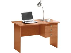 Γραφείο επαγγελματικής χρήσης SIGNAL cherry με 3 συρτάρια 120x60x75cm [Ε-00020668] ΕΟ105,1 (Cherry)