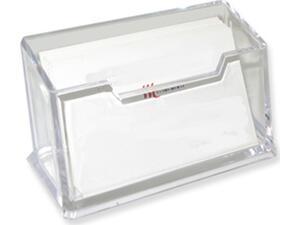 Στάντ εντύπων ακρυλικό Artter 5,5x8,5cm μιας θέσης για κάρτες