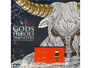 Gods heroes & monsters of greek mythology coloring book