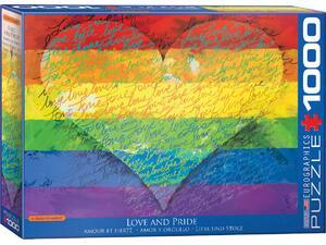 Πάζλ Eurographics 1000τεμ. Love & Pride! by Parker Greenfield