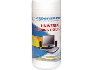 Μαντηλάκια καθαρισμού Η/Υ με πανί Esperanza 150ml