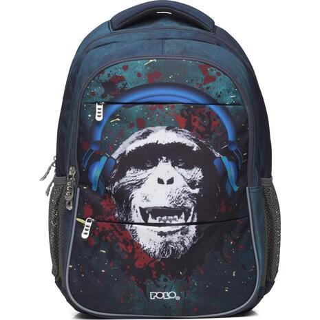 Σακίδιο πλάτης 2+1 θέσεων POLO Phantom Monkey (9-01-270-8025 2020)