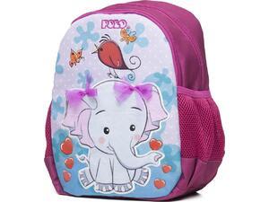 Σακίδιο πλάτης 1+1 θέσεων POLO Animal Junior ελεφαντάκι (9-01-014-8035 2020)