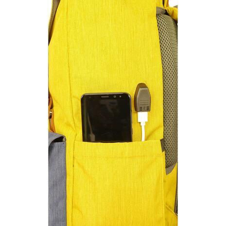 Σακίδιο πλάτης POLO Styller Mustard (9-02-023-34 2020)