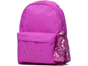 Σακίδιο πλάτης 1+1 θέσεων POLO Scarf ροζ (9-01-135-24 2020)