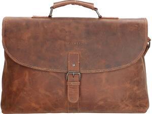 """Τσάντα Laptop 15.6"""" POLO Old West καφέ (807077-010-00)"""