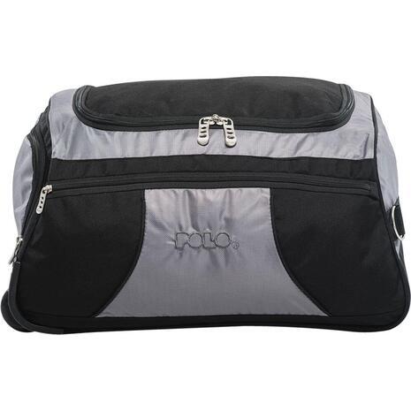 Τσάντα ταξιδιού τρόλεϋ POLO Amsterdam 40 lt μαύρο γκρι (9-09-041-02)