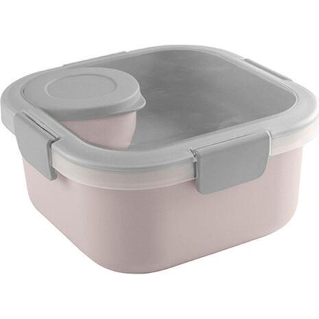 Δοχείο φαγητού POLO Sunware διπλό 250ml ροζ (8-15-637-16)