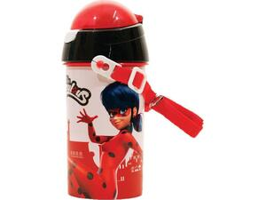 Παγουρίνο Πλαστικό GIM Flip Pop Up Miraculous Super Heroes 500ml (574-03209)