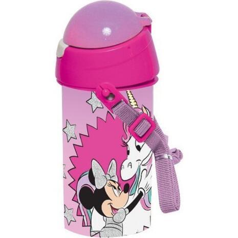 Παγουρίνο Πλαστικό  GIM Flip Minnie Unicorn 500ml (553-32209)