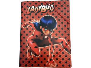 Φάκελος με λάστιχο A4 PP LadyBug (346-04515)