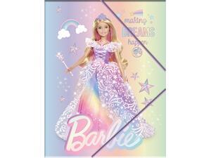 Φάκελος με λάστιχο PP Barbie A4 (349-65515)