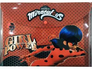 Φάκελος με κουμπί PP Ladybug (346-04580)