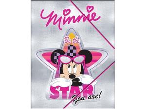 Φάκελος με λάστιχο PP Minnie A4 (340-48515)