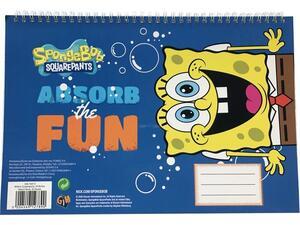 Μπλοκ ζωγραφικής Spongebob 30 φύλλων Α4 (336-76413)