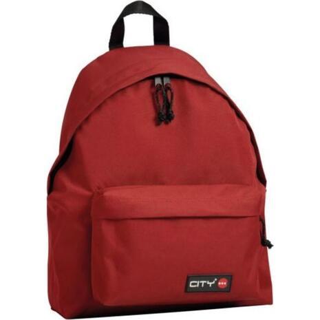 Σακίδιο πλάτης Lyc Sac City The Drop True Red 95017