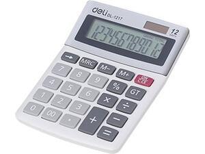 Αριθμομηχανή DELI Easy 12 ψηφίων ασημί