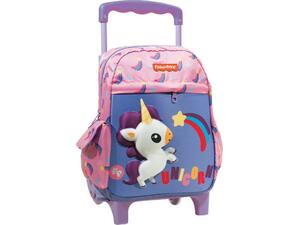Σακίδιο τρόλεϋ GIΜ Fisher Price Unicorn Rainbow (349-08072)
