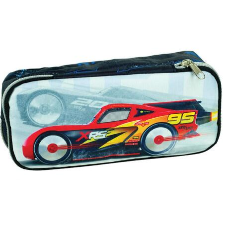 Κασετίνα οβάλ GIM Cars Thunder (341-45144)