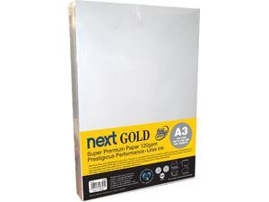 Χαρτί εκτύπωσης NEXT GOLD Α3 120gr 500 φύλλα