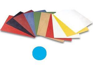 Εξώφυλλο Βιβλιοδεσίας OPUS χάρτινο Α4 240gr γαλάζιο