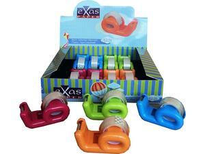 Βάση κολλητικής ταινίας Exas πλαστική 33mm σε διάφορα χρώματα