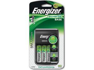 Φορτιστής Μπαταριών Energizer ACCU Recharge Base για AA/AAA με 4 ΑΑ Μπαταρίες 1300mAh και LED Ένδειξη Φόρτισης