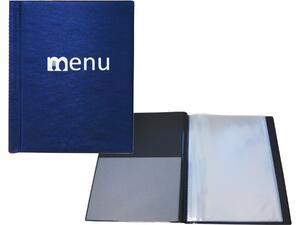 Τιμοκατάλογος (menu) xeleste μπλε Α4 12 φύλλων