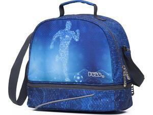 Τσαντάκι φαγητού POLO Kid's Fun 07 μπλε ποδοσφαιριστής (9-07-038-8005 2020)