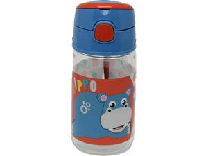 Παγουρίνο πλαστικό GIM Hippo Fisher Price 350ml (571-50204)