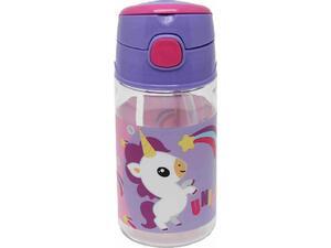 Παγουρίνο πλαστικό GIM Fisher Price Unicorn Rainbow 350ml (571-51204)