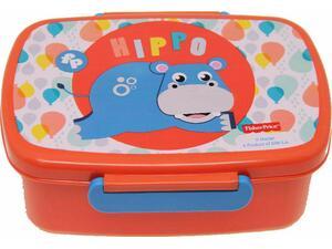 Δοχείο Φαγητού GIM (Micro) Fisher Price Microwave Hippo (571-50265)