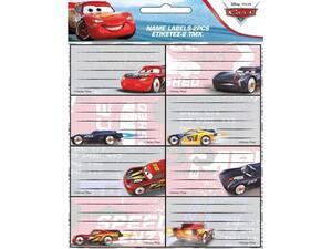 Σχολικές ετικέτες GIM Cars (συσκευασία 16 ετικετών) (772-16746)