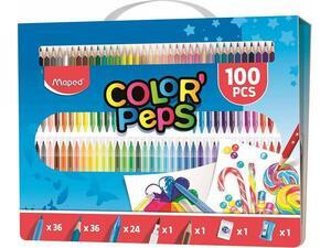 Σετ ζωγραφικής Maped Colorpeps 100 τεμαχίων 907003