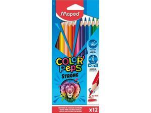 Ξυλομπογιές Maped Color'Peps Strong πακέτο 12 τεμαχίων (862712)
