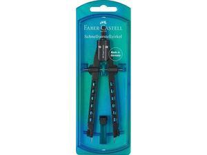 Διαβήτης Faber Castell Factory Blue (174340)