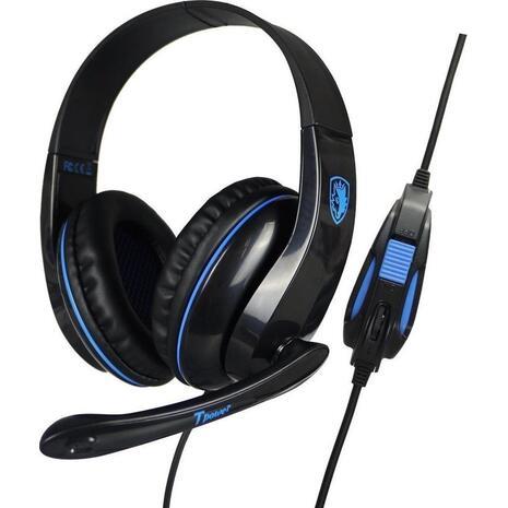 Ακουστικά SADES Tpower Gaming Headset μπλε (SA-701BL)