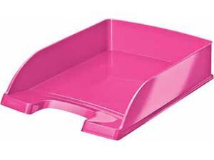 Χαρτοθήκη γραφείου LEITZ 5226 wow ροζ μεταλλικό