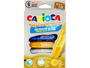 Τέμπερες Carioca Temperello Metallic  σε στικ 6 Χρώματα
