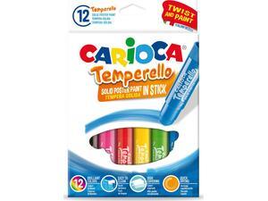 Τέμπερες Carioca Temperello σε στικ 12 Χρώματα