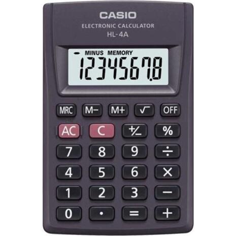 Αριθμομηχανή Casio HL-4 τσέπης