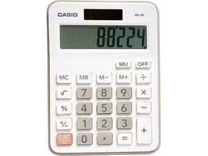 Αριθμομηχανή Casio MX-8B White