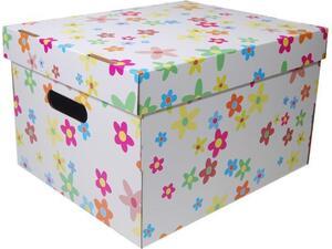 """Κουτί αρχειοθέτησης NEXT A4 19x30x25.5cm """"λουλούδια"""""""