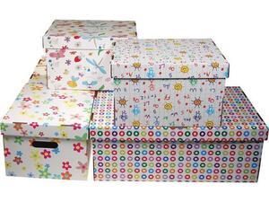 """Κουτί αρχειοθέτησης Next Α4 19x30x25cm """"Patterns"""""""