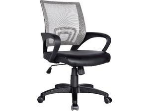 Kαρέκλα γραφείου Γκρι Mesh /Μαύρο PU BF2101 [E-00012630] EO254,10 (Γκρι)
