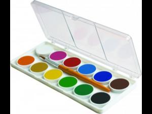 Νερομπογιές Adel πακέτο 12 χρωμάτων
